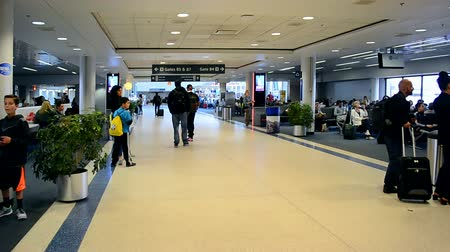 voyager : BOSTON - APR 23,2016: Boston Logan International Airport on April 23,2016 in Boston,Massachusetts,USA.Airport has 102 gate positions total divided among 4 terminals. It was open on September 08,1923.