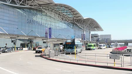 voyager : SAN FRANCISCO, CA - APR 17: San Francisco International Airport on April 17, 2015 in San Francisco, California, USA. It was open on May 7, 1927.