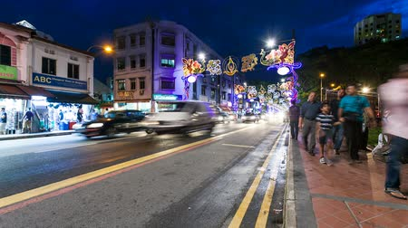 singapur : Little India Timelapse, Singapur Videos