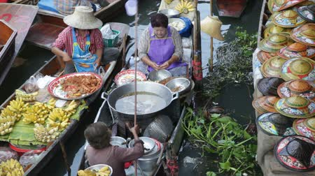 рынок : Floating Market in Thailand