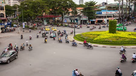 Вьетнам : TRAFFIC IN VIETNAM - HO CHI MINH CITY - Time Lapse