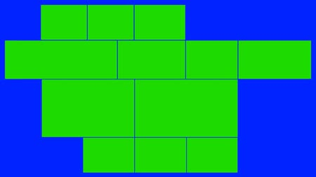 prezentaci : Sliding Green Screens on a Blue Screen