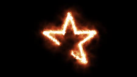 buring : Star is Lighting up and Burning in Flames