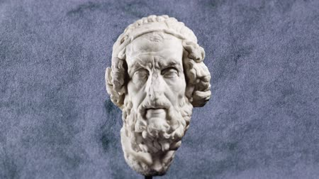 philosopher : Sculpture of The Greek poet Homer