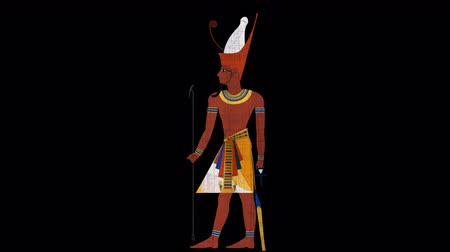 papyrus : Double Crown All Egypt Egyptian Pharaoh in Alpha Channel