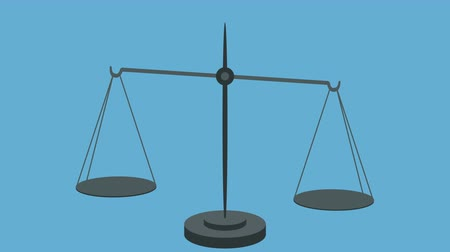 social inequality : Unequal Scales in Vector Style
