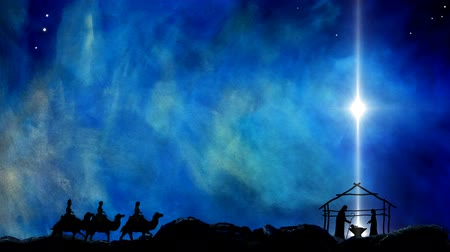 fundo azul : Nativity of Jesus Star Of Bethlehem
