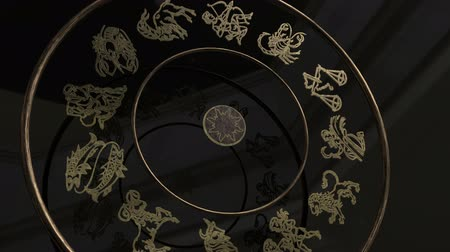 libra : Golden Zodiac Wheel