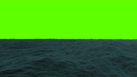 jezero : Traveling in the Sea on a Green Screen