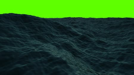 raging : Middle of the Sea on a Green Screen