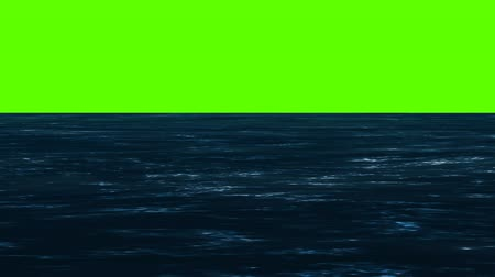 pirates : Sea Currents on a Green Screen