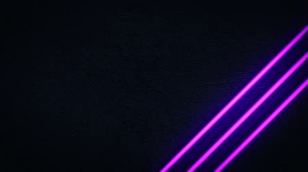 Neon Light Style Background Wideo
