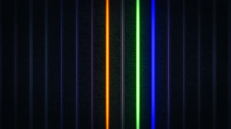 turning off : Colorful Neon Light Stripes Background