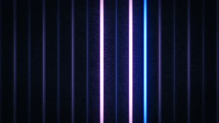 Lines of Neon Light Background