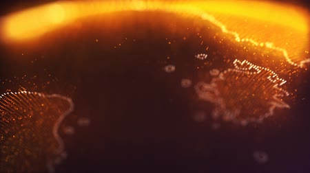 particle system : Accurate Planet Mars Digital Background