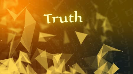 İbranice : The Word Truth on a Kabbalah Background