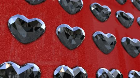 drahokamy : Wall of Heart Shaped Diamonds Dostupné videozáznamy