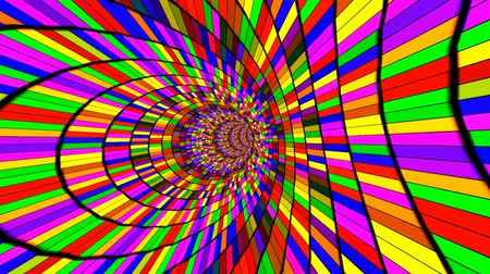 hyperspace : Crazy Psychedelic Ride Full with Colors
