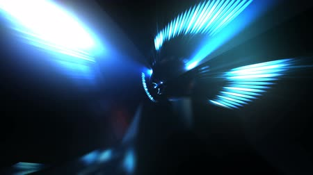 hyperspace : Spacecraft Flying Through a Tube Like Corridor in Seamless Loop