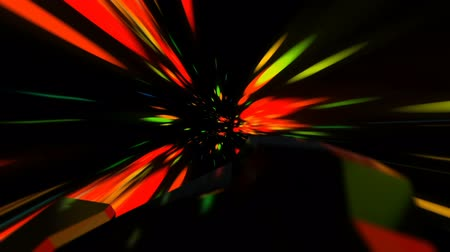 lutador : Spaceship Flying Through a Space Vortexin in Light Speed Seamless Loop