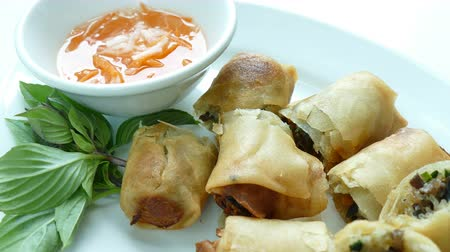 roll : Fried spring roll - chinese food style