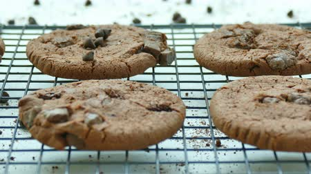 bolachas : Close-up Chocolate cookies