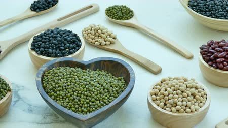 ledvina : Assorted of Beans, Red bean, Soy bean, Mung bean, Black Bean Dostupné videozáznamy