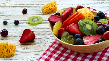 melão : Assorted and mixed fruits