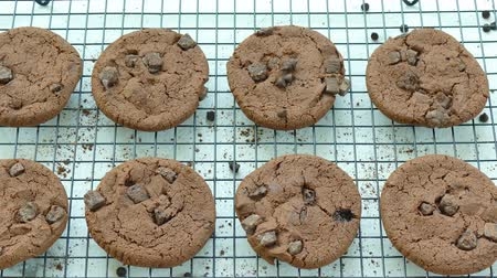serviette de table : Gros plan Biscuits au chocolat