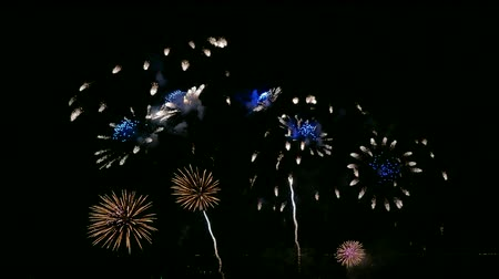 ano novo : 4K Firework display