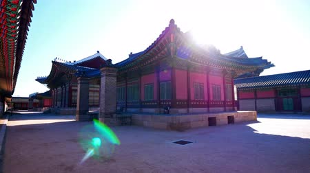 gyeongbokgung : Gyeongbokgung palace in Seoul South korea.