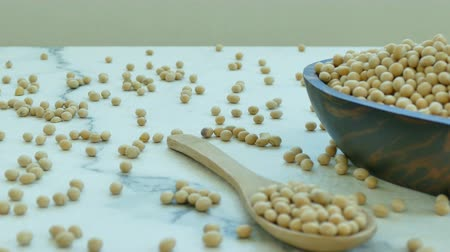 soya : 4K Close up soybean