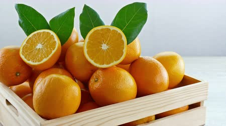 orange : Close up of oranges