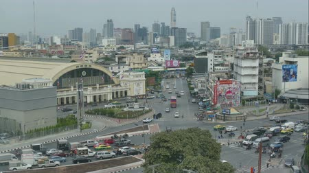 sudeste : 4K Time lapse Bangkok city in Thailand