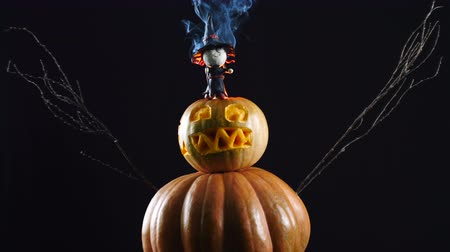 dole : Halloween. Burning witch.