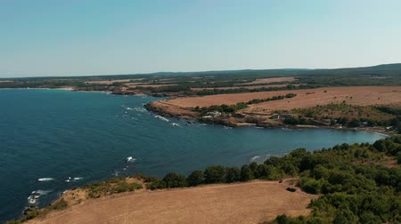 dolphin : Aerial view of the coastline near Dolphin beach, Bulgaria
