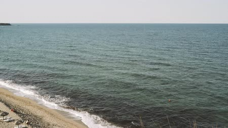 пауза : View from the Cliff above Veleka beach at Sinemorets, Bulgaria