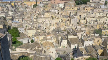 toskánský : Panorama of the medieval city of Matera, tourist attraction Italy. Europa