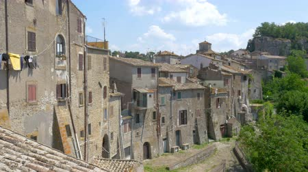 tuscan : panorama of a medieval town