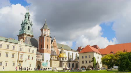 cracovie : Panorama du château de Wawel, Cracovie, Pologne
