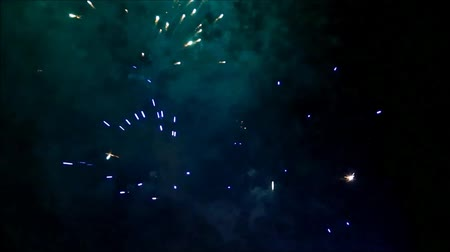 Firework with sound, new year