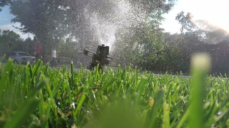 irrigate : Automatic lawn irrigation