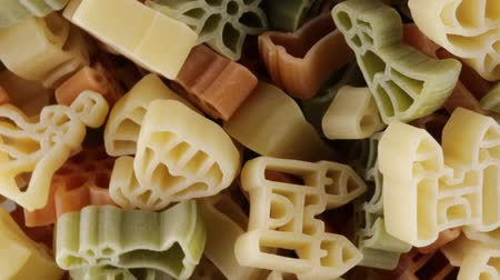 kasza manna : Pasta with shapes