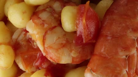 búzadara : Gnocchi with prawns