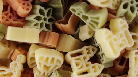 Pasta with shapes