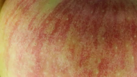 cor de malva : Red apples Stock Footage