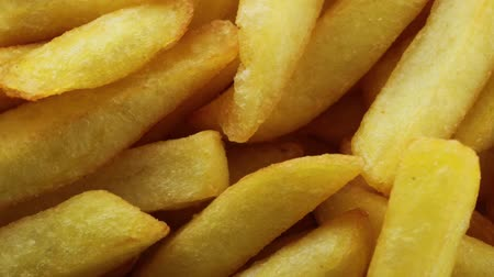 packet : french fries Stock Footage
