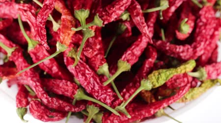 Calabresi peppers Stock Footage