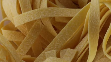 dried thin noodles Stock Footage