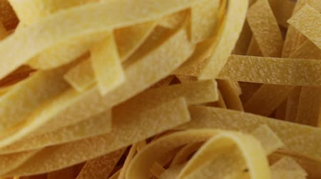porcini mushrooms : tagliatelle dry pasta made by hand